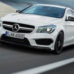 الانوار الامامية ذات الكثافة العالية للسيارة مرسيدس CLA Classs 2014