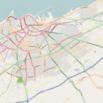 خريطة لموقع مسجد الحسن الثاني - 41480
