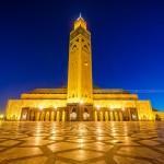 مسجد الحسن الثاني ليلاً - 41485
