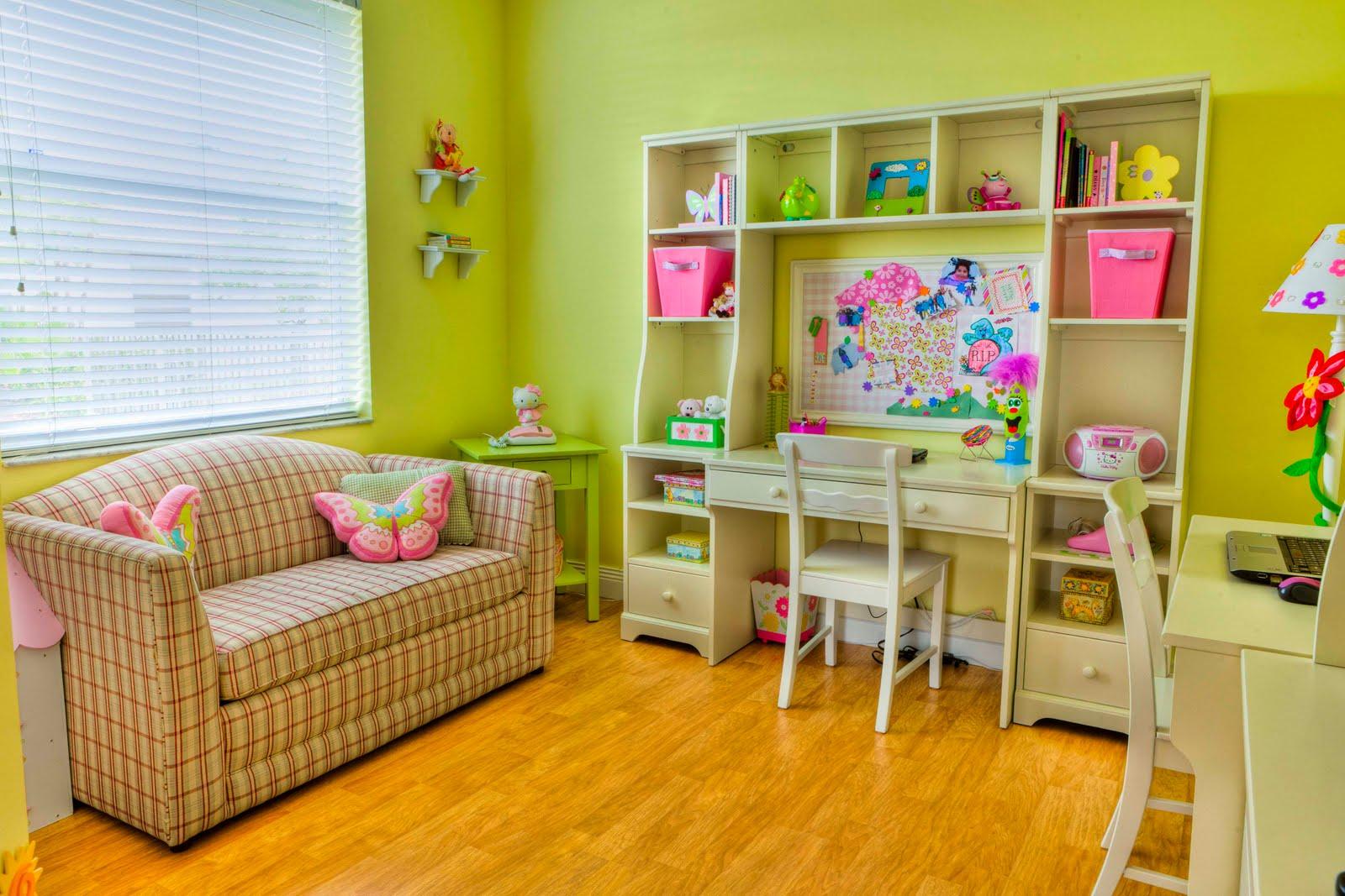 7 Inspiring Kid Room Color Options For Your Little Ones: تصاميم غرف اطفال باللون الاخضر جميلة