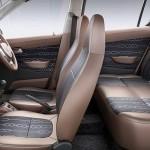 المقاعد الداخلية للسيارة سوزوكي التو 2014