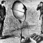 المتلقي Photophone، نصف نظام لاسلكي للاتصالات البصرية بيل  - 35741