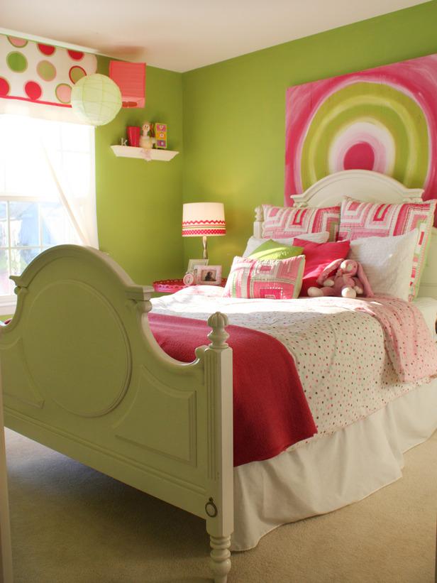 غرف بنات وردي وتفاحي | المرسال