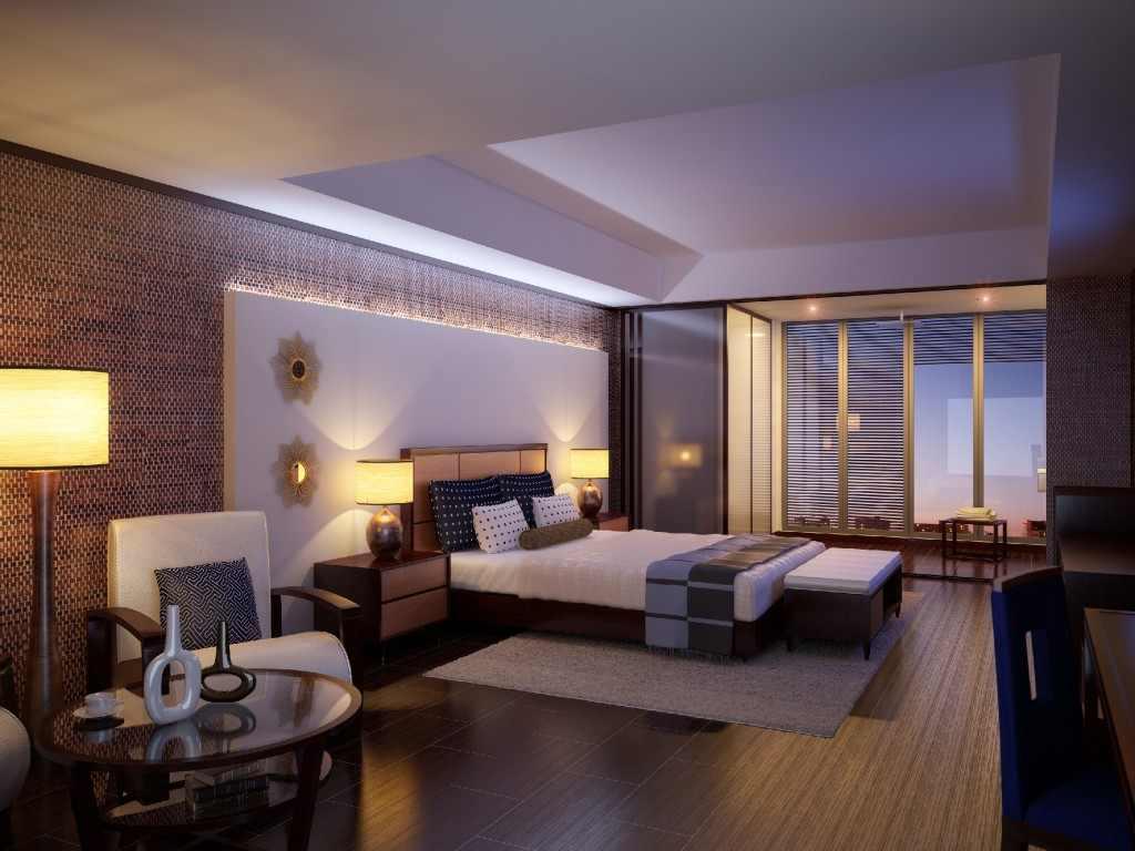 تصميم غرف نوم واسعة