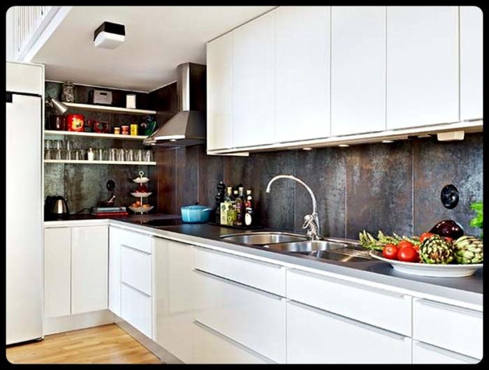 - Simple interior design of kitchen ...