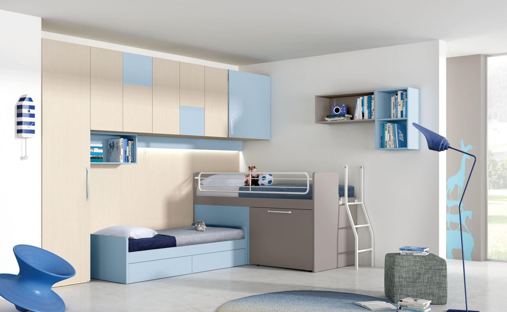 تصميم غرف نوم ثلاث بنات بسيطة | المرسال