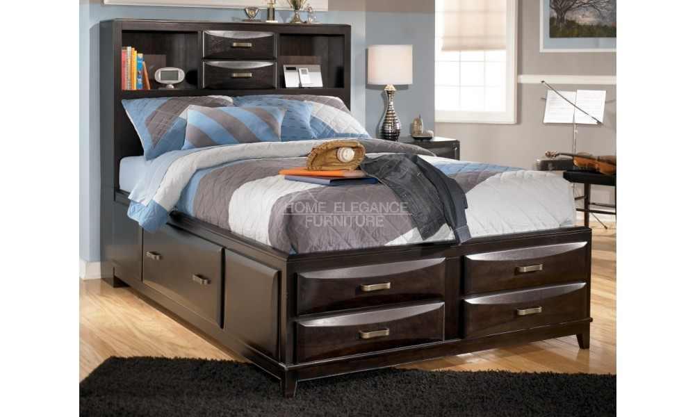 تصميم غرفة نوم مميزة مع افكار ذكية للتخزيين | المرسال