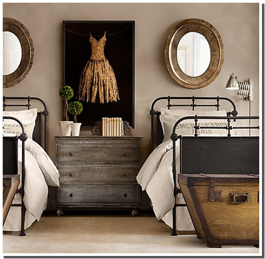 - Chambre style vintage ...