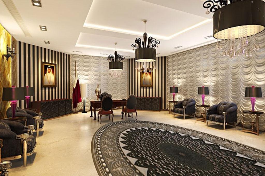 تصاميم غرف جلوس واسعة مميزة | المرسال