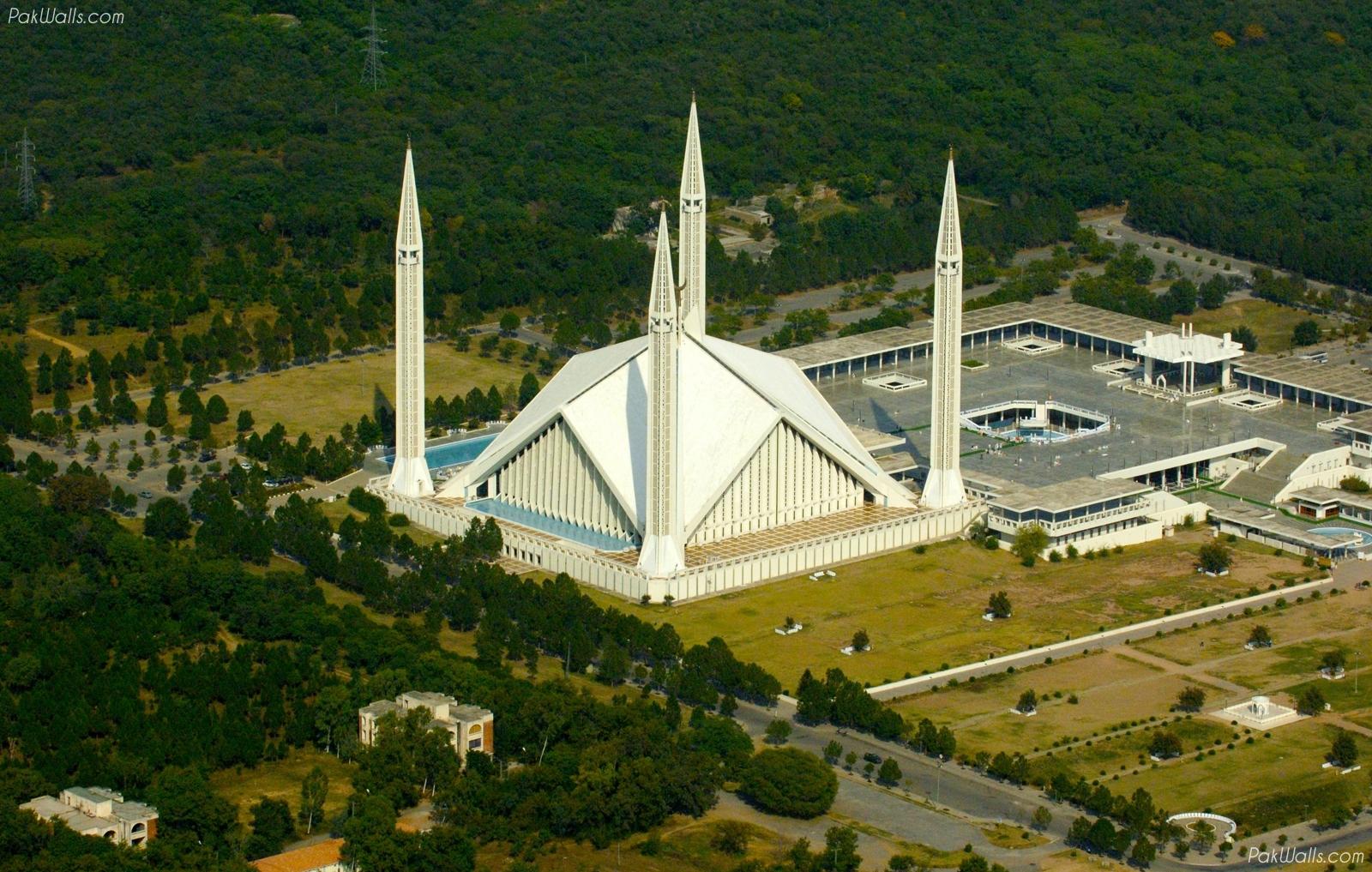 أكبر مسجد في باكستان | المرسال