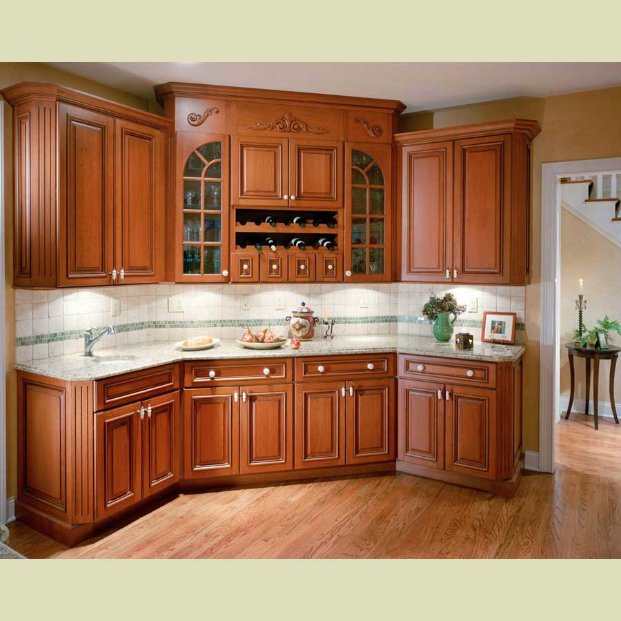 Attractive Color Light Maple Cabinets Interior Designs: تصميم مطابخ خشب سنديان انيقة