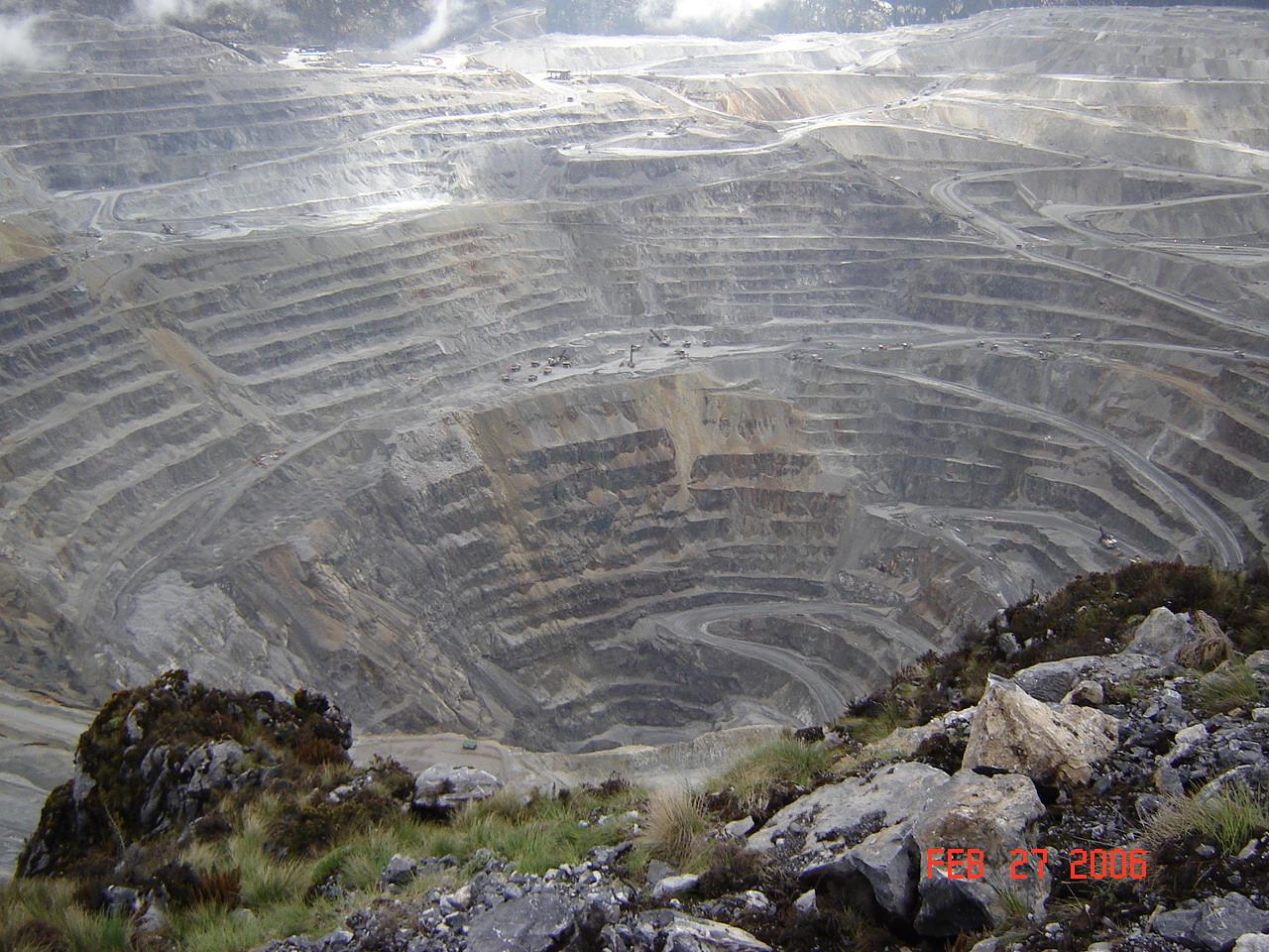 اهم مناجم الذهب في العالم ... منجم جراسبيرج   المرسال