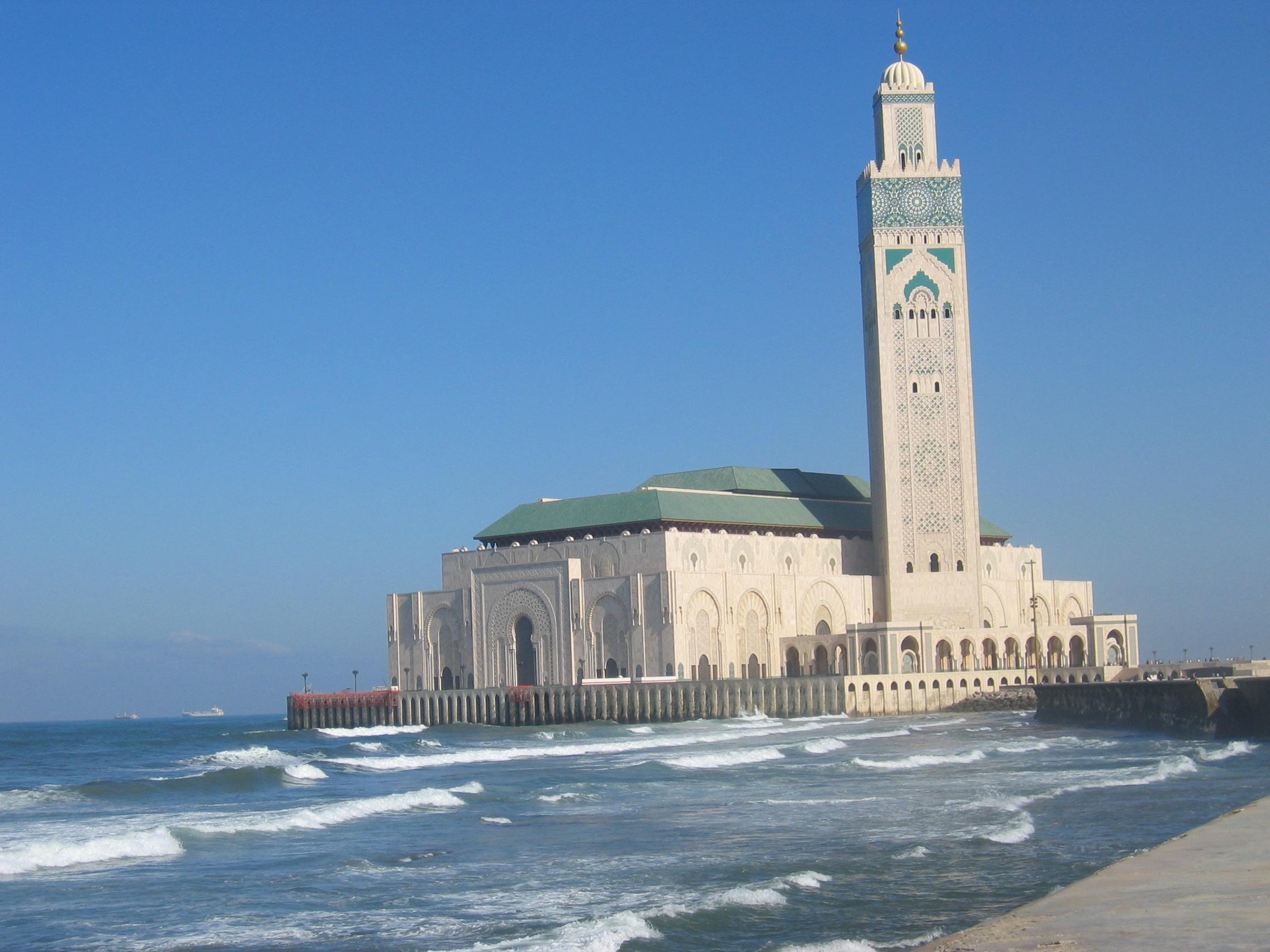 مسجد الحسن الثاني في المغرب