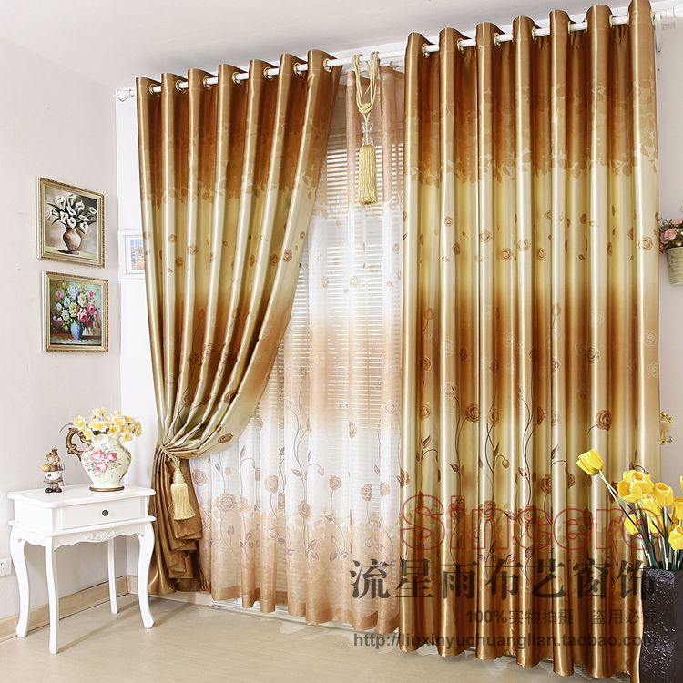 Luxury modern windows curtains design collections for Interior design curtains