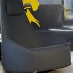 كرسي هزاز بسيط