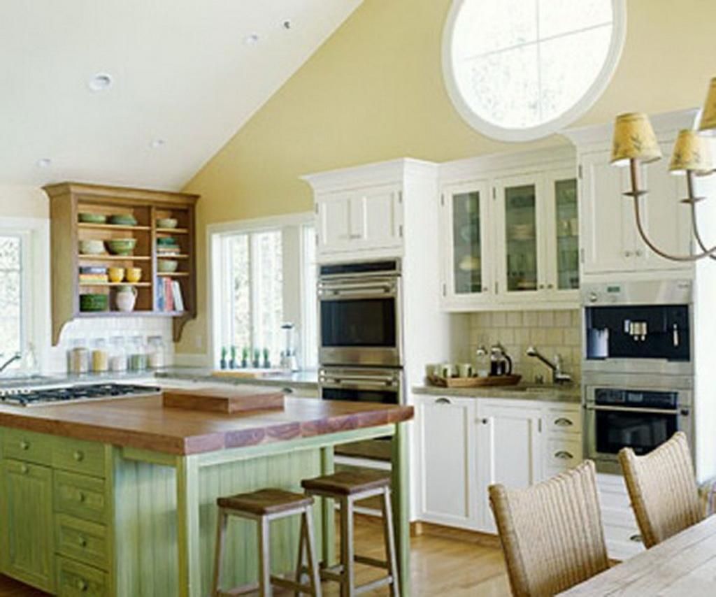Colorful Kitchen Decor Pictures: تصاميم مطابخ بسيطة جميلة