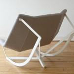 كرسي هزاز جميل وبسيط