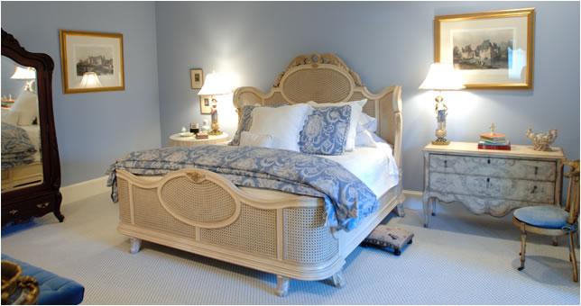 تصاميم غرف نوم سماوي بسيطة | المرسال