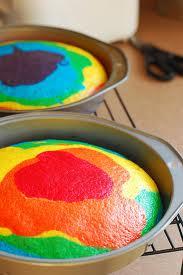 شكل الكيك بعد الخبز