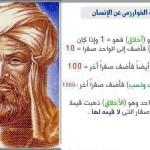معادلة الخوارزمي عن الانسان