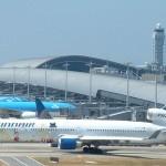 مطار كانساي الدولي .. مطار على جزيرة صناعية
