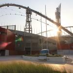 ملعب المنتخب الوطني القطري لكرة القدم من الخارج