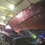 استاد خليفة الدولي من الداخل في نهائيات بطولة كأس الأمير