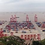 ميناء يانغ شان في الصين