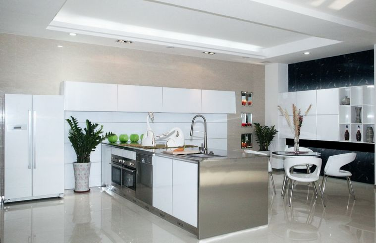 for Aluminium cupboard designs for kitchen