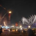اللألعاب النارية بملعب خليفة الدولي في افتتاح الدورة الآسيوية