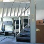 بوينغ 747 درج حلزوني