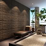 تصاميم جدران ثلاثية الابعاد