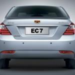 صورة السيارة من الخلف للسيارة جيلي EC7 - 2014 - 45986