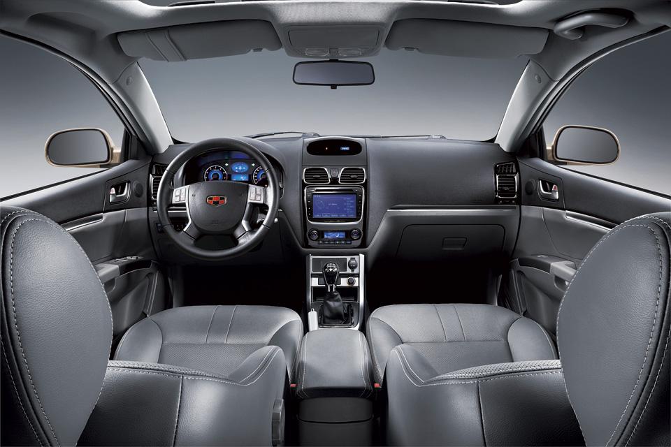 مقاعد السيارة جيلي EC7 – 2014