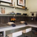 اضافة ارفف جدارية بالمطبخ