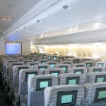 الخطوط الجوية اليابانية 747 - الكبائن الاقتصادية