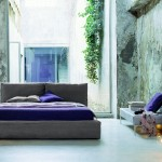 اشكال غرف نوم باللون الموف رائعة - 49604