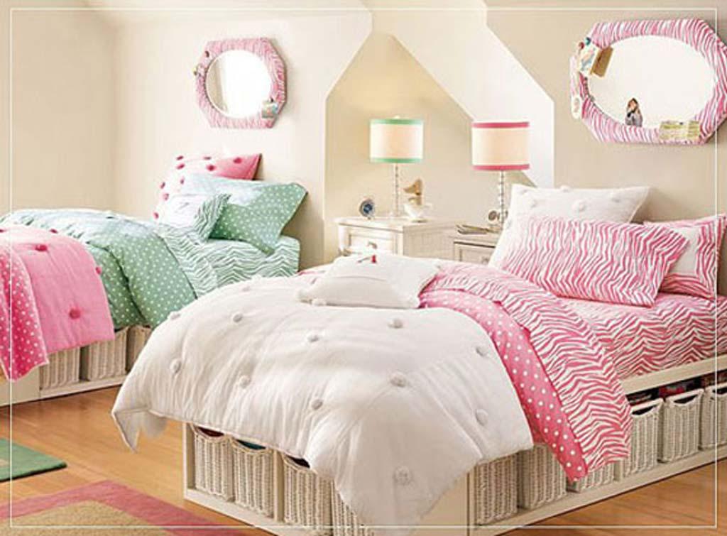 غرف نوم بنات مزدوجة | المرسال