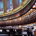 المكتبة البريطانية من الداخل