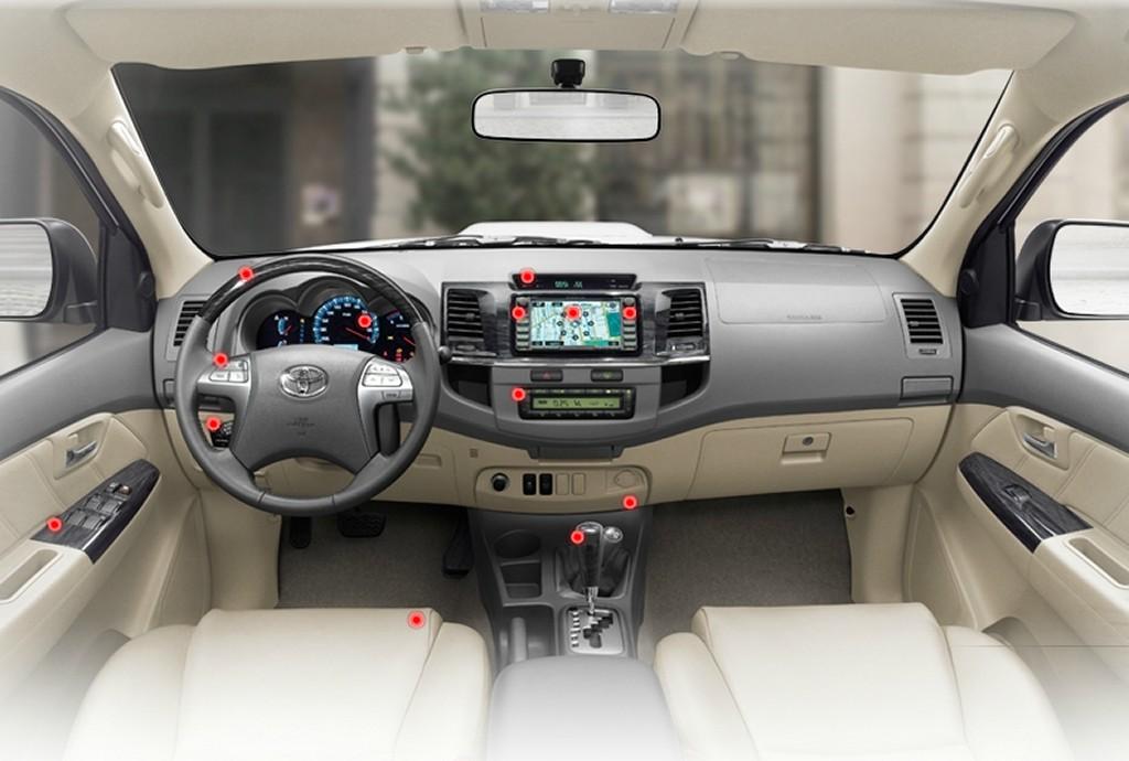 صورة مقاعد السيارة تويوتا فورتشنر 2014   المرسال