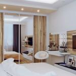 تصاميم غرف نوم باللون البيج والابيض - 49607