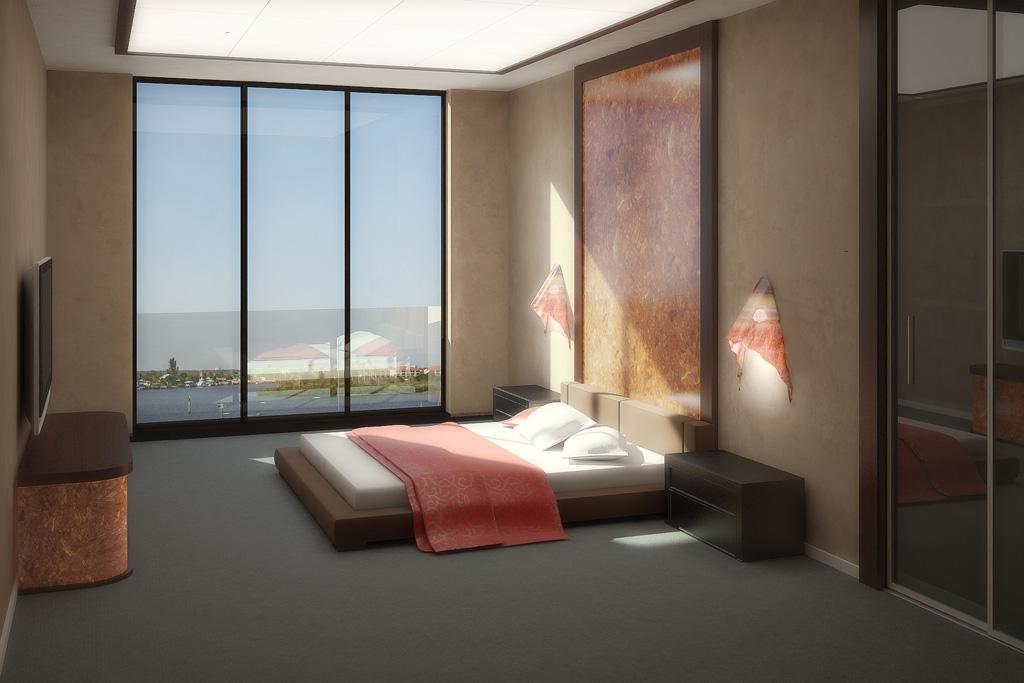 تصاميم مودرن لغرف النوم | المرسال