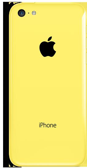 اللون الاصفر من iphone5c
