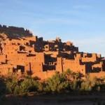 قصر آيت عند الشروق