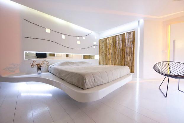 ديكورات غرف النوم باللون الابيض | المرسال