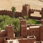 المساحة الخضراء بجوار قصر آيت