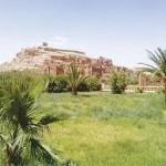 المناظر الخلابة حول قصر آيت