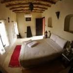 احد الغرف داخل قصر آيت