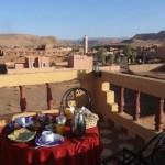 شرفة في قصر آيت