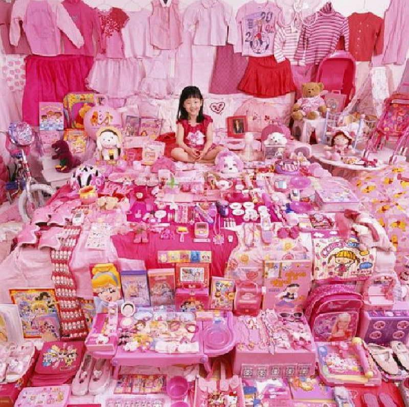 افكار لتزيين غرفة نوم بنات باللون الروز والاحمر | المرسال